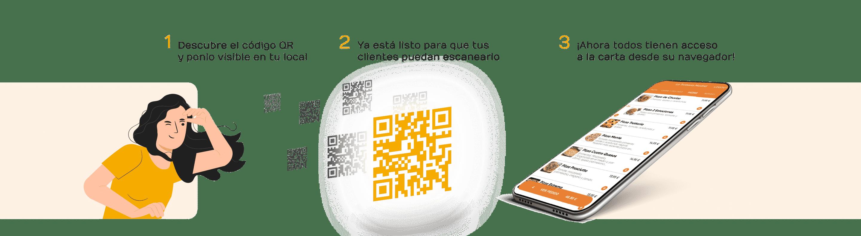 pasos carta digital interactiva qr